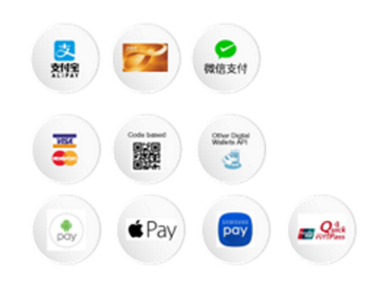 Popular Payment Gateways Integrated